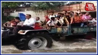 भारत में बारिश का कोहराम, रेगिस्तान से पहाड़ों तक पानी ही पानी ! Anjana Om Kashyap की Special Report