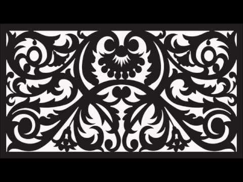 CNC Router and Laser Cutting 50 Vectors Files Knockout Panel Decoration DXF  Woodwork ArtCAM
