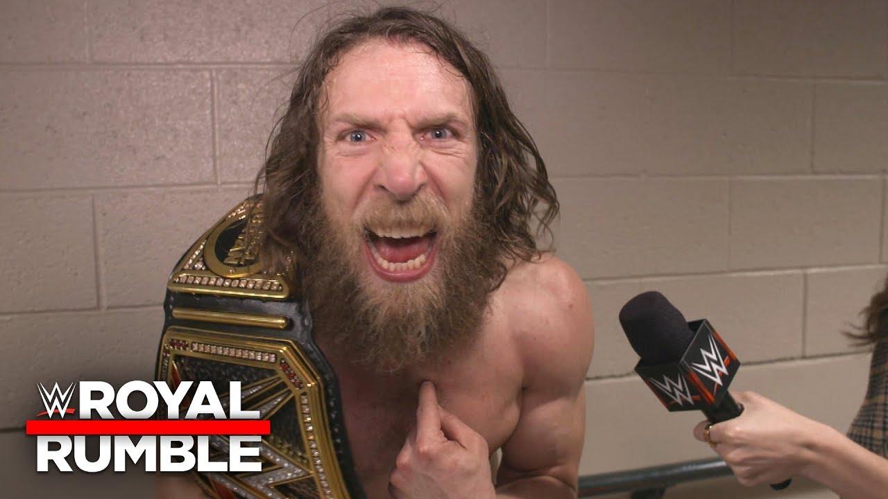 "Daniel Bryan calls WWE fans ""fickle"" following WWE Title Match response: WWE Exclusive, Jan 27, 2019"