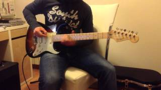 AC/DC Rock N Roll Train guitar cover by Keko