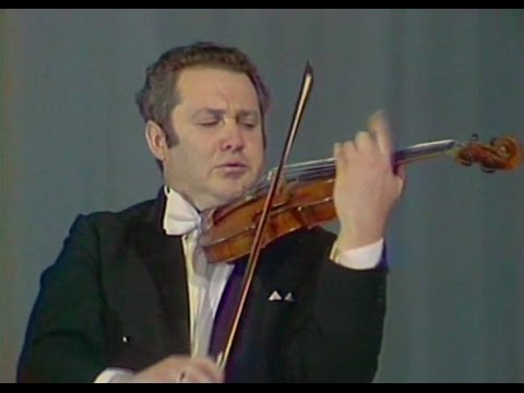 Eduard Grach plays Kreisler - video 1976