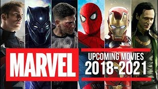 Upcoming Marvel Movies 2018 - 2021