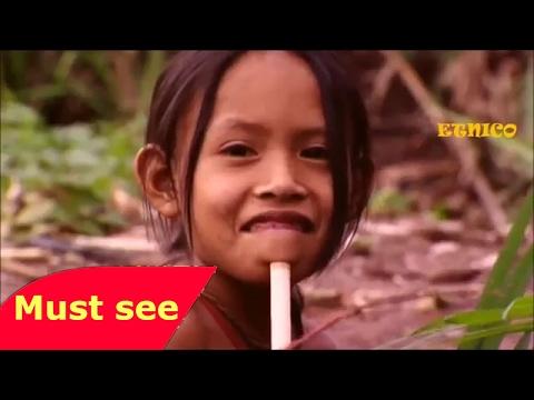 Primer Contacto    TRIBU PERDIDA EN EL AMAZONAS  Documental NatGeo