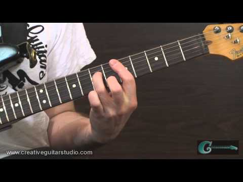 GUITAR THEORY: Applying Alternate Voicings