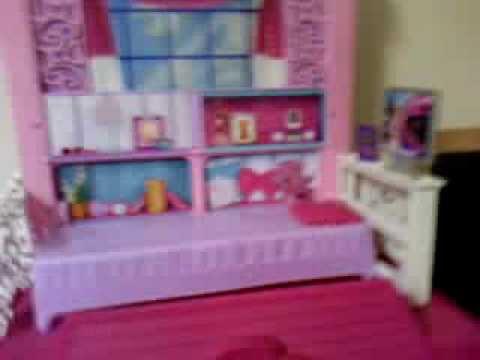 Minha casa da barbie de 2 andares youtube - Casa de barbie ...