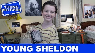 Young Sheldon: Set Visit With The Cast!