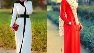 Annah Hariri 2017 Spring Summer Abaya Models 1 2