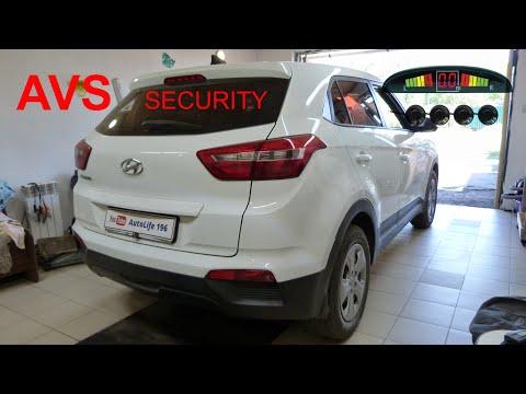 Hyundai Creta Установка парктроников.