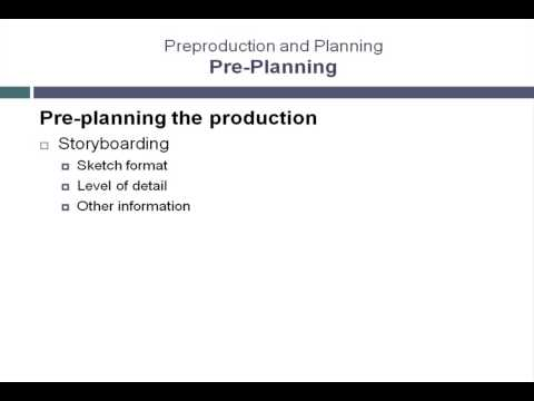 Pre-Plan Animation Productions