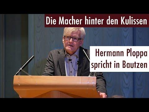 Die Macher hinter den Kulissen - Hermann Ploppa spricht in Bautzen (17.11.2017)