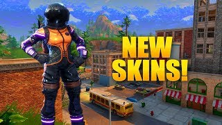 NEW DARK VANGUARD SKIN! SPACE SHUTTLE GLIDER ON FORTNITE!!! (FORTNITE BATTLE ROYALE)