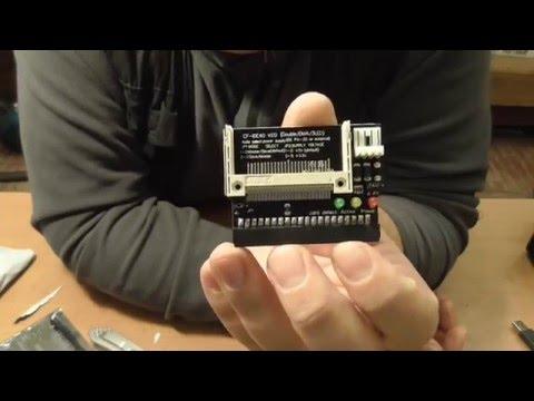 Адаптер CF To IDE, FreeBSD Router, посылка из Китая - Обзор