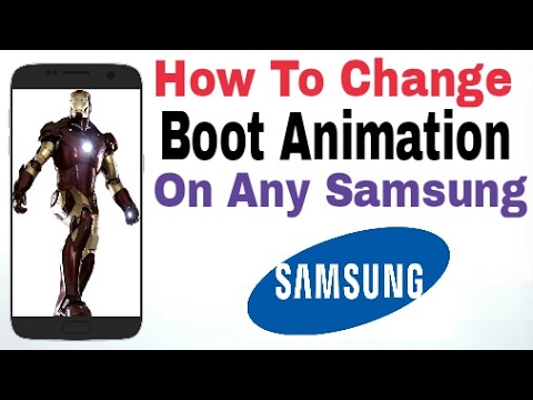 How To Change Boot Animation On Any Samsung Mobile