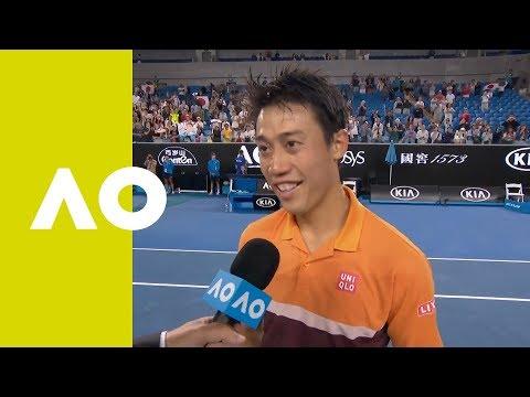 Kei Nishikori on-court interview (4R) | Australian Open 2019