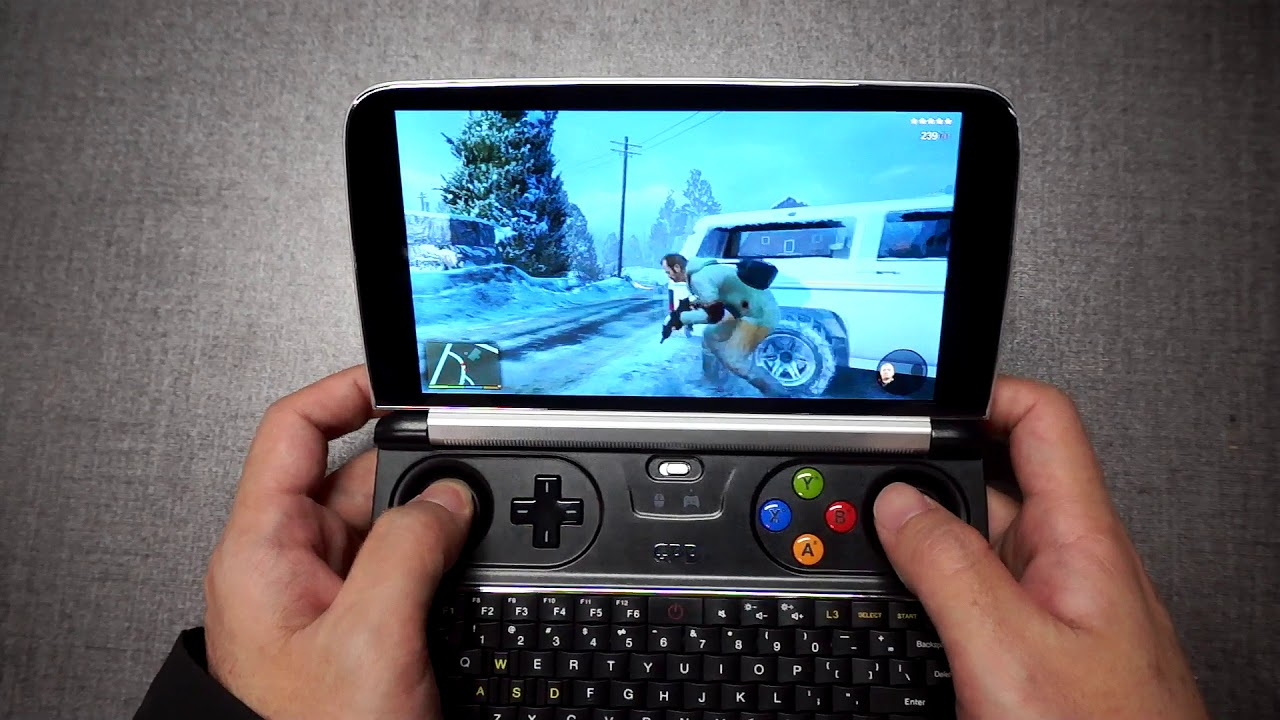 GPD WIN 2 RUNS GAME GTA5 YouTube