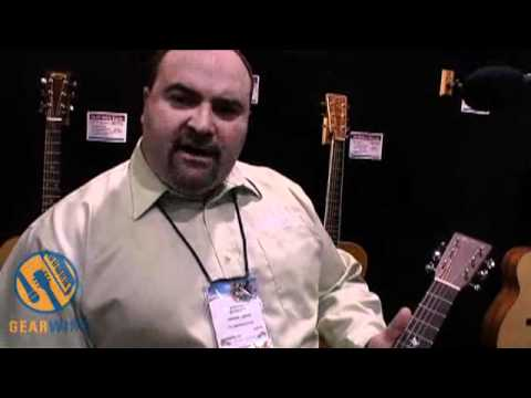 Martin 5-18 Marty Robbins Signature Acoustic Terz Guitar At NAMM (Video)