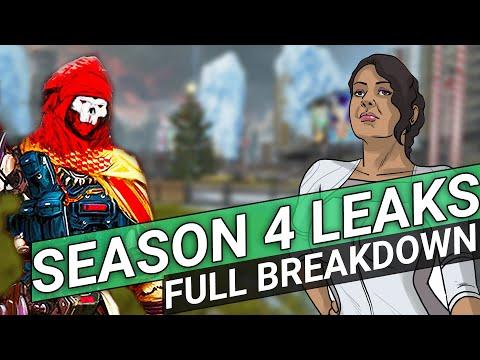 Apex Legends - All Season 4 Leaks - New Legend - New Weapon - New Theme!