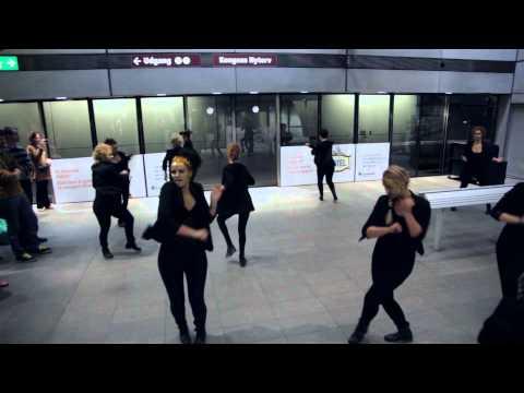 FLASH MOB! Copenhagen Choreographer's Competition 2012, Kongens Nytorv metro station