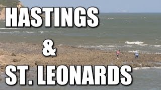 Hastings & St Leonards in East Sussex - English beach fishing venues, South Coast, England, Britain
