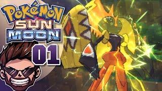 Pokemon Sun & Moon Playthrough w/ ShadyPenguinn Part 1 | THE BEST POKEMON OPENING EVER!