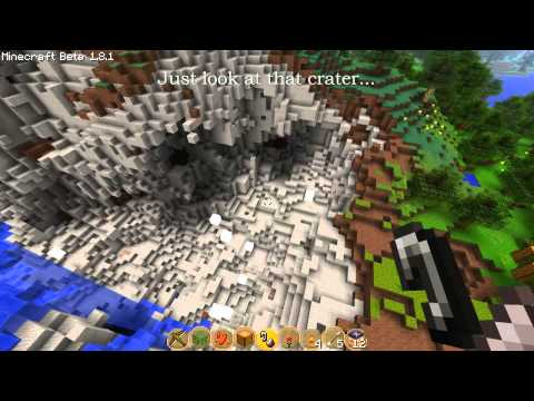 Blowing up a Cave filled with TNT