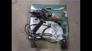 Обзор дрель ударная STATUS DP1050вт\Overview drill shock STATUS DP 1050 W