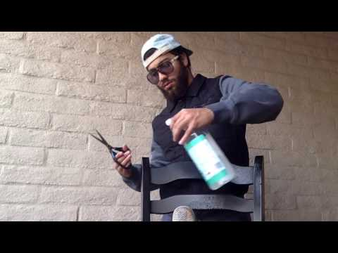 ASMR Haircut with Spray Bottle