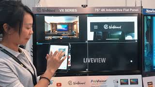 LTE 2018 : e-writeboard QuadCast Live Demo #designforwireless