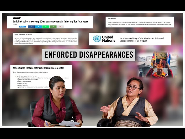 Situation of enforced disappearance in Tibet