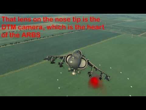 RAZBAM AV-8B N/A for DCS: Bomb release test
