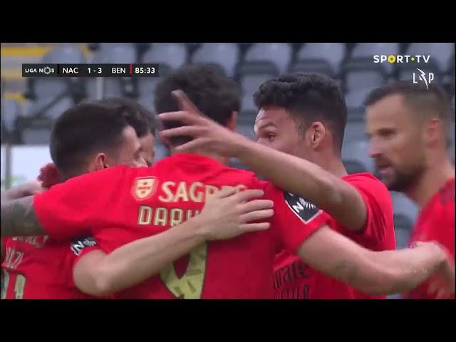 Goal | Golo Gonçalo Ramos: CD Nacional 1-(3) Benfica (Liga 20/21 #32)