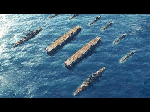 1944 Two Japanese Carriers Sink US Ships In WWII Naval Battle | Sudden Strike 4 The Pacific War DLC