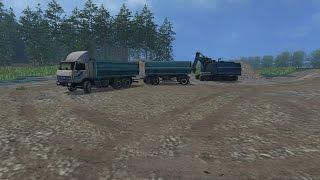 Farming Simulator 2015 Варваровка #2 Возим гравий