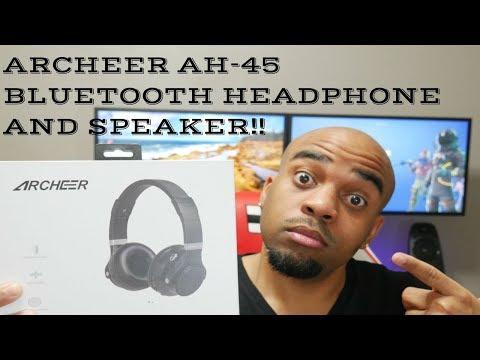 Archeer AH-45 Speaker/Headphone Combo!! Great Idea!!