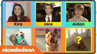 Play 'Whose Pet is This?' w/ Jace Norman, Kira Kosarin & More! | Nick