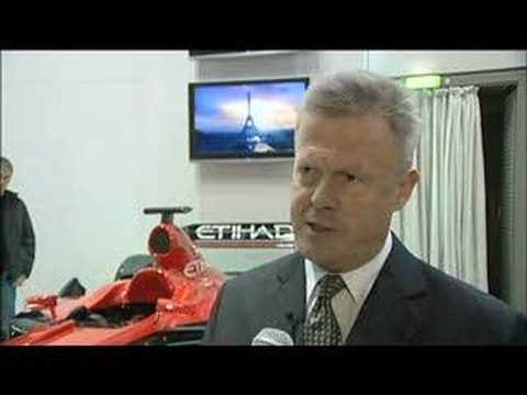Kirk Albrow, Regional General Manager, Europe & Americas, Etihad Airways @ ITB Berlin 2008