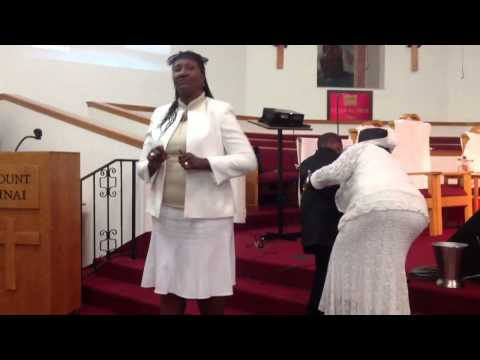 "MILLS CHILD DEVELOPMENT CENTER-ASL SIGNING SONG. ""JESUS LOVE ME""."