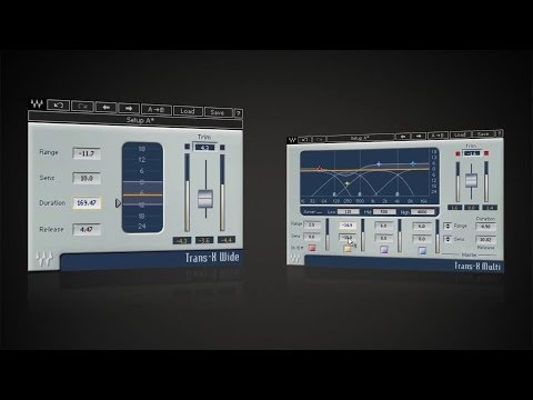 Add Punch to Drum Tracks with Waves' Trans-X Plugin mp3 letöltés
