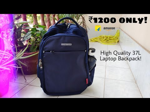 cosmus-atomic-dx-laptop-backpack-full-review-|-best-bag-under-₹1000-in-india?