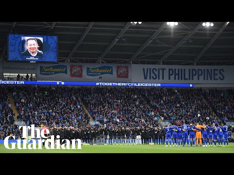 Vichai Srivaddhanaprabha: tributes made to Leicester owner at Cardiff City