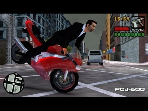 Grand Theft Auto - Liberty City Stories Android Gameplay HD(FULL GRAPHICS)