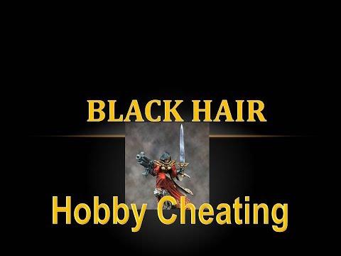 Hobby Cheating 92 - How to Paint Black Hair indir