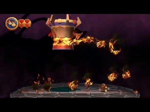 Guia Donkey Kong Country Return Pc Mundo 8 Volcan FINAL Niveles 8-6, 8-7, 8-J, 8-K