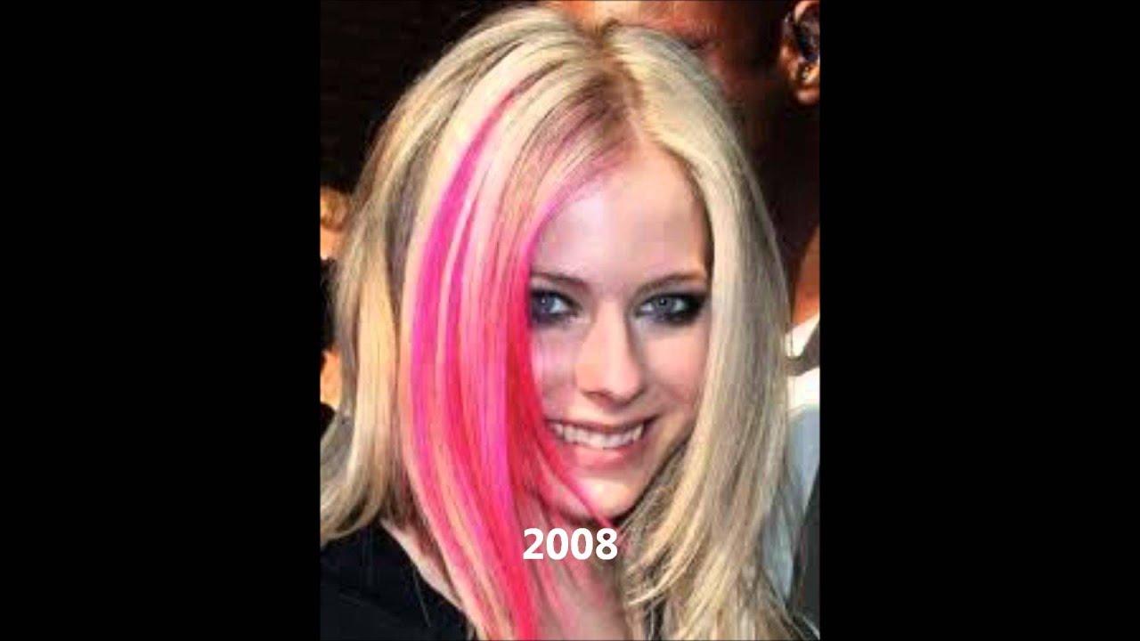 Avril Lavigne 2000 - 2013 - YouTube Avril Lavigne