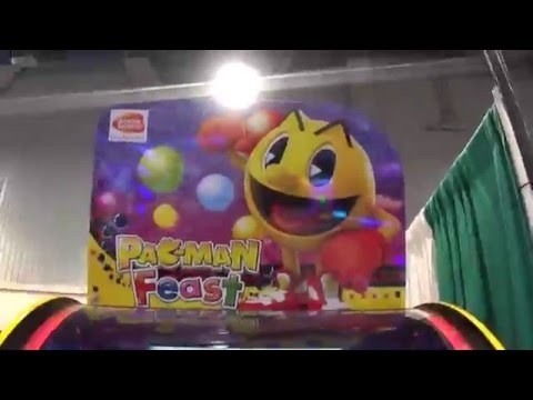 Amusement Expo 2016 Part 2 - More arcades games and booths!