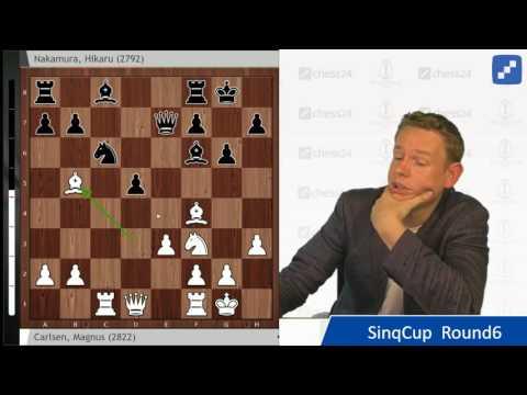 Carlsen - Nakamura, Sinquefield Cup 2017: A tense chess struggle