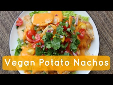 POTATO NACHOS // Vegan & Healthy