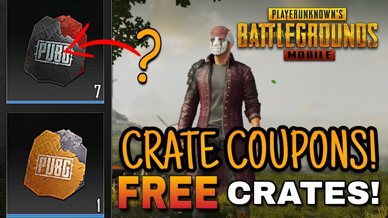 FREE PREMIUM Crates in PUBG Mobile! Coupons and Scraps EXPLAINED