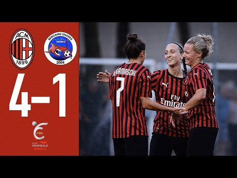 Highlights   AC Milan 4-1 Orobica Calcio   Matchday 2 Serie A Women 2019/20