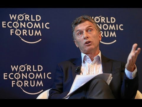 World Economic Forum Live: Mauricio Macri, President of Argentina and Chair of th